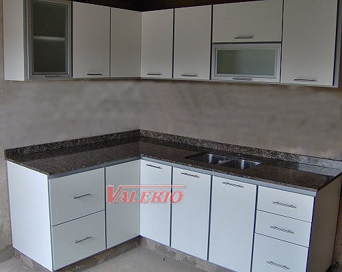 Muebles de cocina en melamina con cantos pvc a medida for Muebles cocina melamina