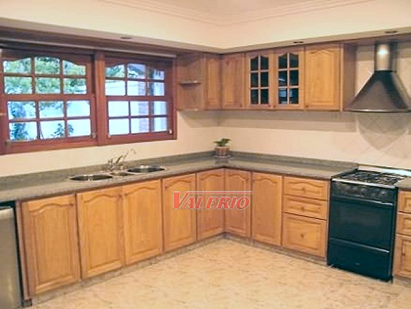 Roble natural muebles de cocina a medida en madera roble - Cocinas estilo colonial ...