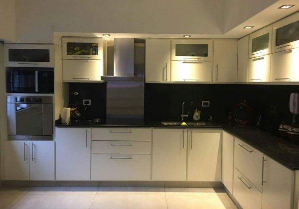 Laqueado blanco Muebles de cocina a medida - Amoblamientos ...