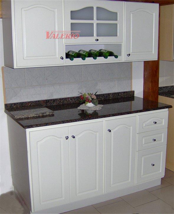 Laqueado blanco Muebles de cocina a medida  Amoblamientos para cocina