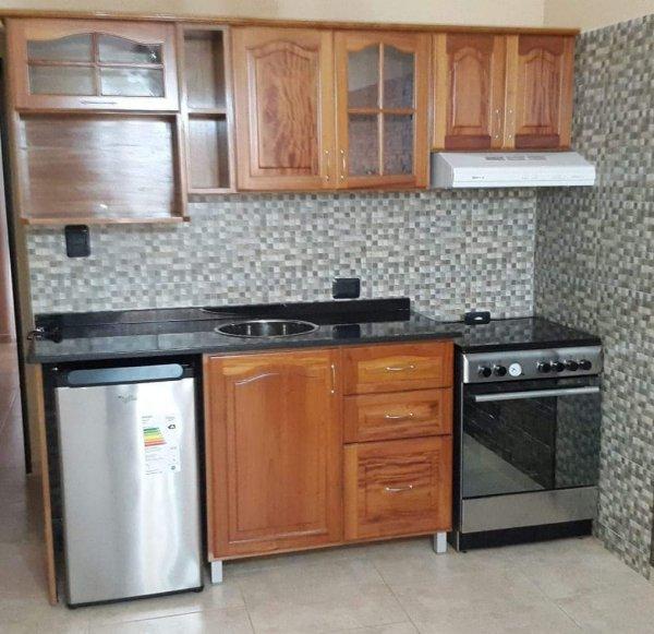 Muebles de cocina en madera de cedro natural a medida ...