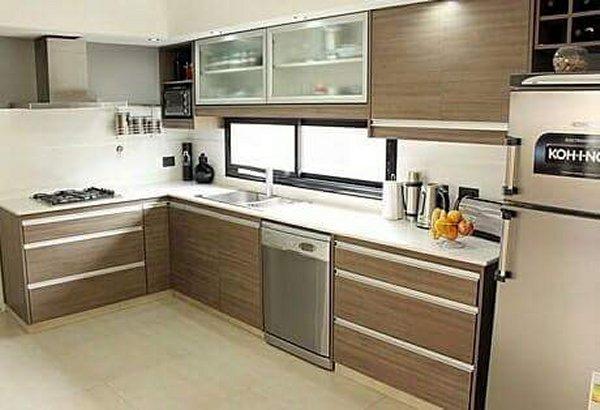 Melamina Con Bordes De Aluminio Muebles De Cocina A