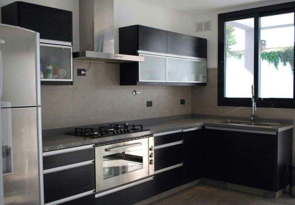Melamina con bordes de aluminio muebles de cocina a for Amoblamientos de cocina precios