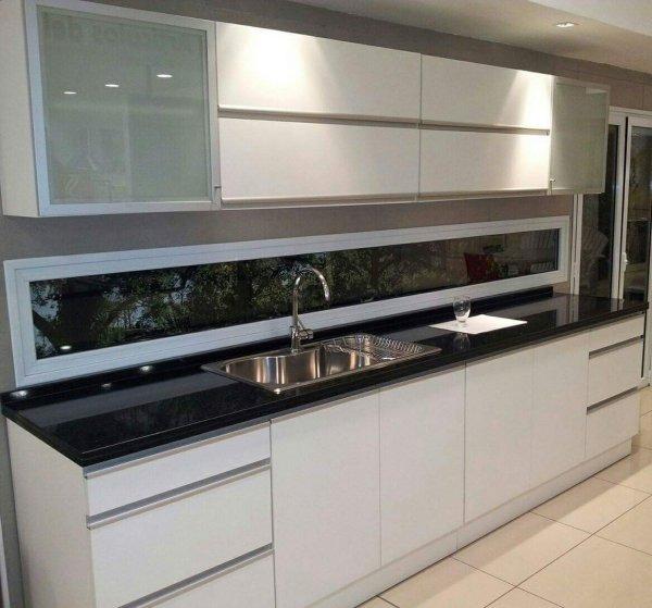 Melamina con bordes de aluminio muebles de cocina a medida amoblamientos para cocina en - Muebles de cocina modernos fotos ...