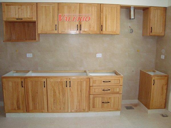 Muebles de cocina a medida en madera de paraiso  Amoblamientos para